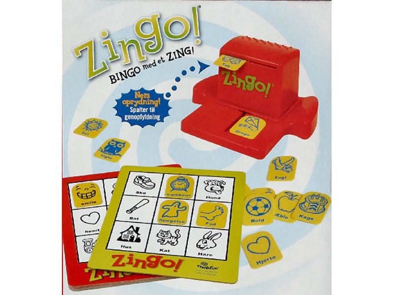 Zingo! Bingo med et Zing! - Du kan spille på dansk og engelsk - Spillehulen