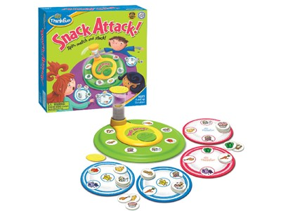 Snack Attack! - Spin, match and Stack!