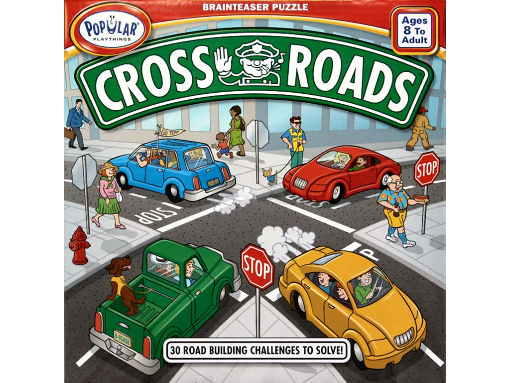 Cross Roads - 30 road building challenges to solve!