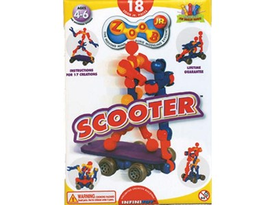 Zoob Scooter Junior - 18 Zoob junior Pieces