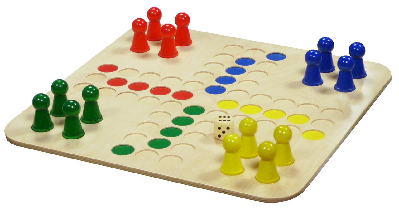 ludo spilleplade