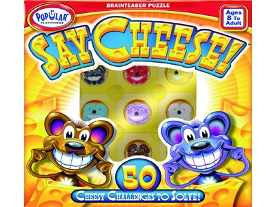 Say Cheese! - 50 Cheesy Challenges to solve!