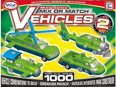 Mix or match Vehicles Set 2 magnetic