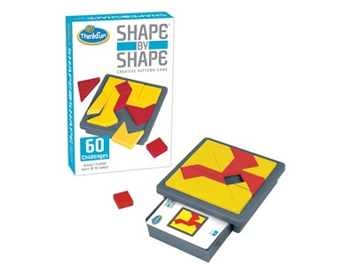 Shape by Shape. Think Fun spil - 60 opgaver