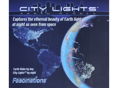 City Lights 26 cm - The world cities seen from the space