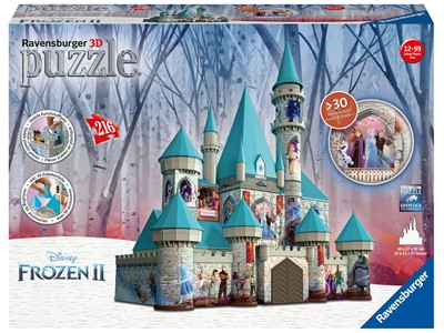Disney Frozen 2 Castle 3D