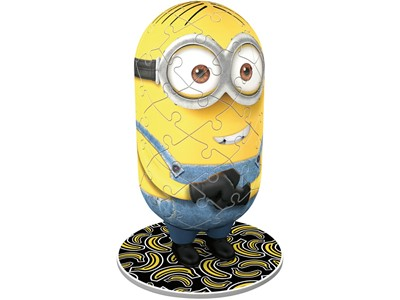 Minions med Jeans - 3D puslespil