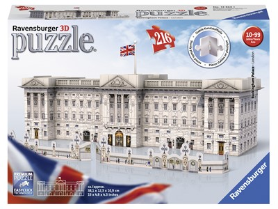 Buckingham Palace 3D, 216 brikker