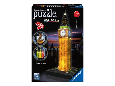 Big Ben London Night Edition 3D