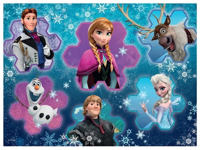 Frozen Cool Collage
