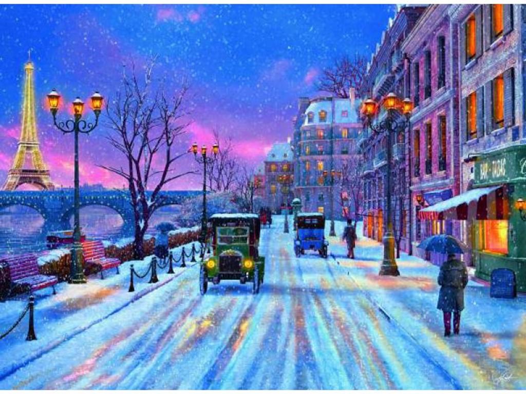 Christmas Scene Paintings