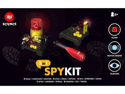 Alga Science - Spy Kit 3 i 1