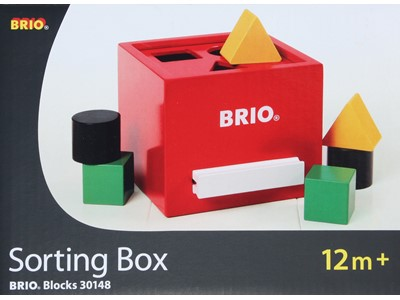 BRIO Sorting Box rød