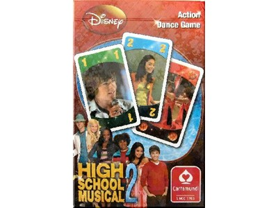 High School Musical 2 Kortspil - Action dance game