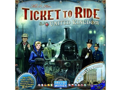 Ticket to Ride United Kingdom and Pennsylvania - Danske spilleregler