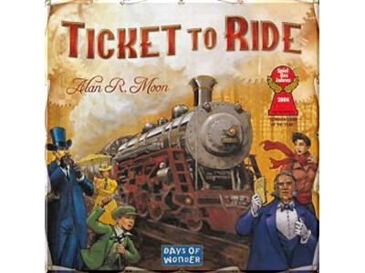 Ticket to Ride. USA. Danske spilleregler - Days of wonder
