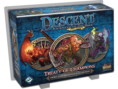 Descent Journeys in the Dark Treaty of Champions