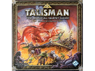 Talisman The Magical Quest game - Revised 4th Edition