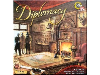 Diplomacy - A Game of International Intrigue, Trust