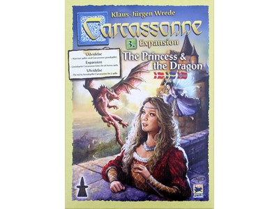 Carcassonne. The Princess and the Dragon - Expansion. Danske spilleregler