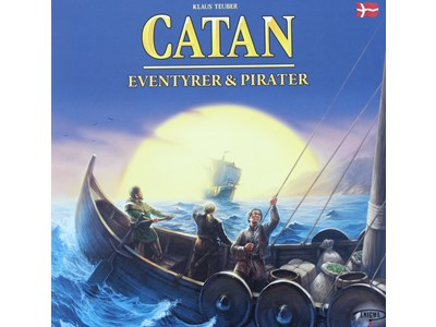 Catan Eventyrere og Pirater (Settlers)