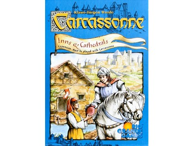 Carcassonne Inns and Cathedrals - Expansion must be played with Carcassonn