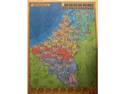 Power Grid The maps of Benelux / Central Europe