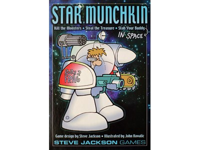Munchkin Star - Kill the Monsters - Steal the Treasure -