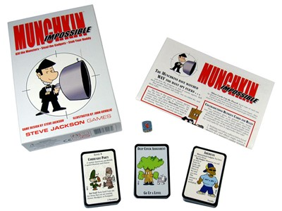 Munchkin Impossible - Kille the Monsters - Steal the Gadgets -