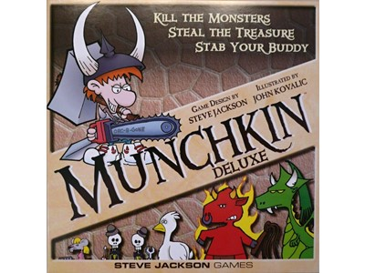 Munchkin Deluxe - Kill The Monsters, Steal The Treasure, Stab your buddy
