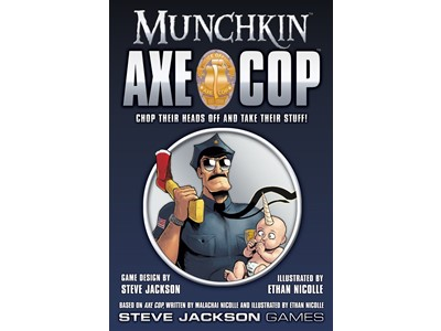 Munchkin Axe Cop - Chop teir heads off and take their stuff