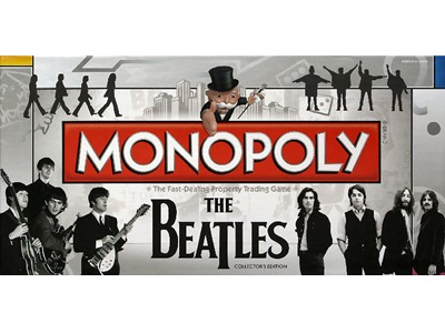 Momopoly. The Beatles. Collectors Editio - The fast-dealing property trading game