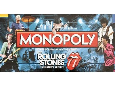 Monopoly. The Rolling Stones. Collectors - The Fast-Dealing Property Trading Game