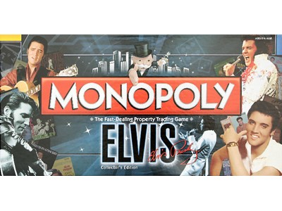 Monopoly Elvis Collectors Edition