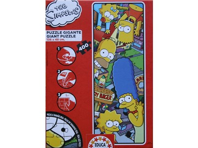 The Simpsons. Gigant - Educa - 400 brikker