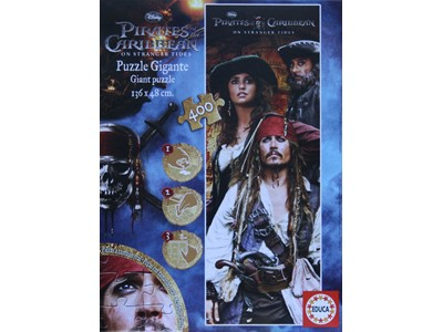 Pirates of the Caribbean. Gigant puslesp - Educa - 400 brikker