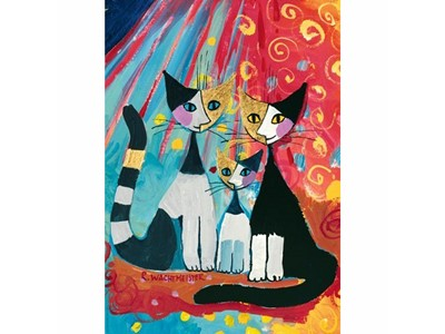 Rosina Wachtmeister We Want to be Together med guldtryk