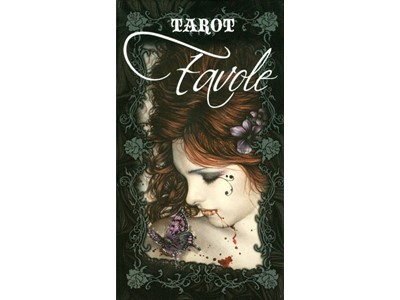 Tarot Cards Favole Victoria Francés - 78 couloured cards and in