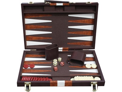 Backgammon Brun