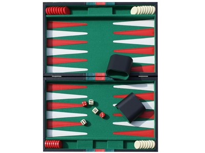 Backgammon vinyl kuffert