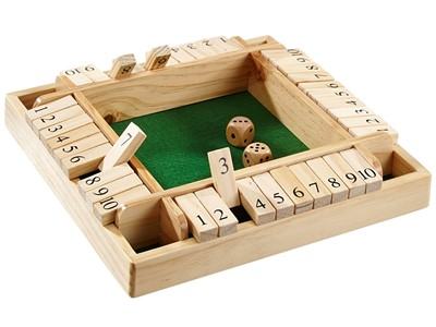 Tric Trac famileudgave, Shut the box