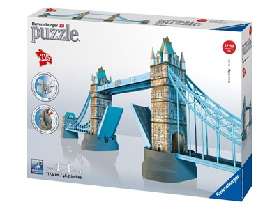 Tower Bridge London 3D puslespil