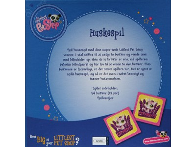 Littlest Pet Shop Huskespil