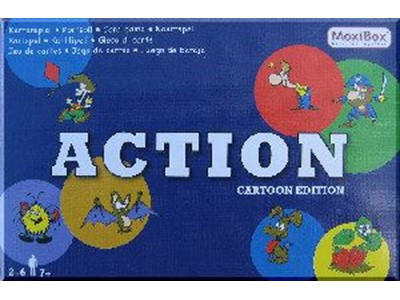 Action. Cartoon edition - Kortspil