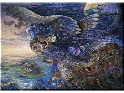 Queen of the Night af Josephine Wall