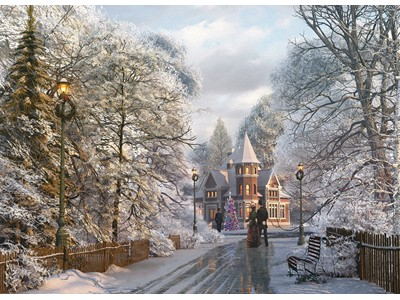 New England Christmas Stroll by Dominic Davidson