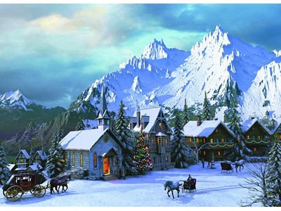 Rocky Mountain Christmas by Dominic Davidson