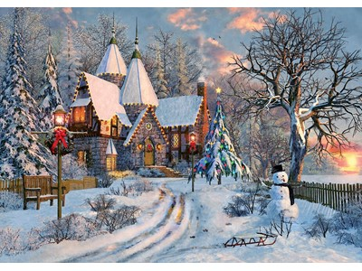 Christmas Cottage by Dominic Davison
