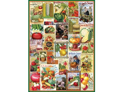 Vegetables - Seed Catalogue Collection