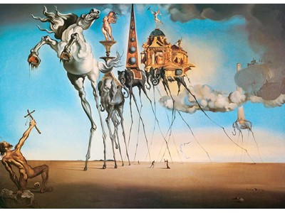 Dali, Salvador - The Temptation of st. Anthony